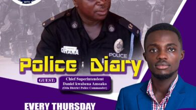 Photo of Police diary 22nd april 2021 on Maakye