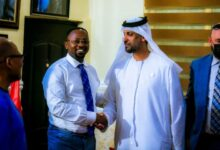 Photo of UN Data Security Analysis Consultant Pays Courtesy Call On UN Peace Ambassador.