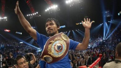 Photo of Manny Pacquiao Retires From Boxing To Focus On Political Career