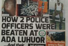 Photo of Today's Newspaper Headlines; Thursday, 28th October 2021