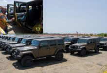 Photo of Akufo-Addo Presents 50 Vehicles To GAF