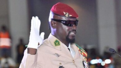 Photo of Guinea Coup Leader Sworn In As President